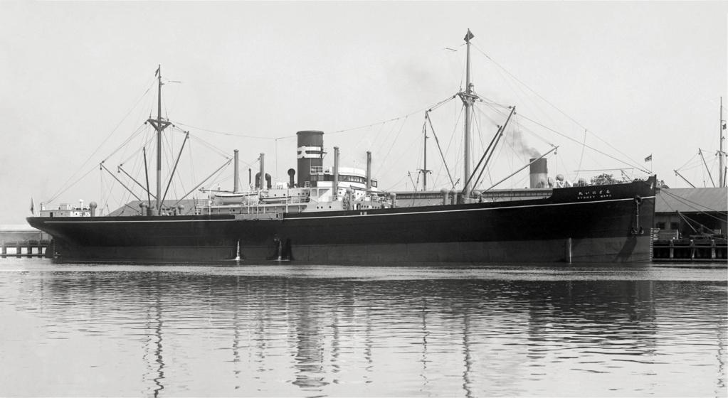 Photos General cargo avant 1940 (Plus 3000gt) 26 Sydney12