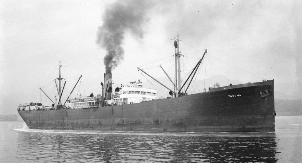 Photos General cargo avant 1940 (Plus 3000gt) 7  Tacoma12