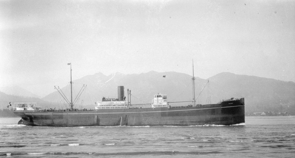 Photos General cargo avant 1940 (Plus 3000gt) 13 Tacoma15