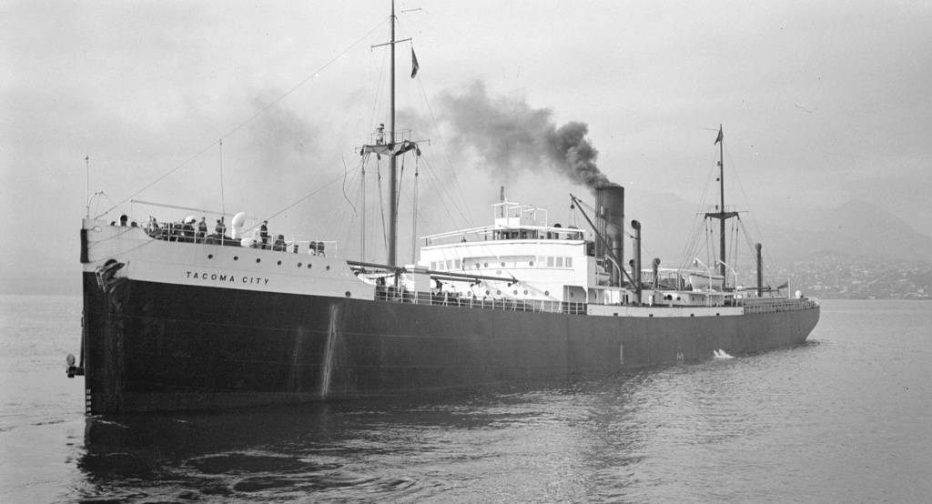 Photos General cargo avant 1940 (Plus 3000gt) 15 Tacoma16