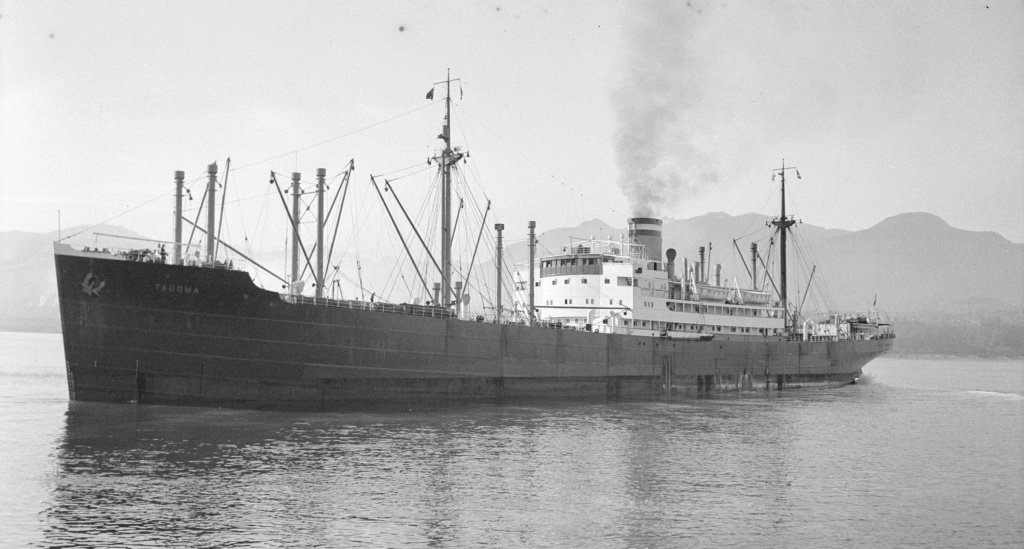 Photos General cargo avant 1940 (Plus 3000gt) 17 Tacoma17