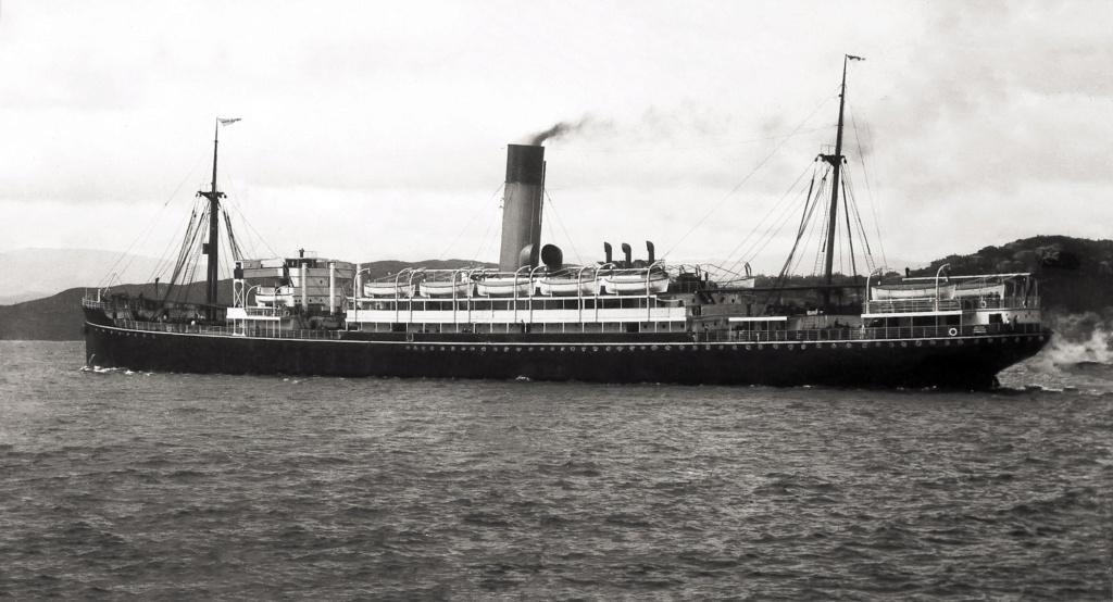 Photos General cargo avant 1940 (Plus 3000gt) 25 Tainui11