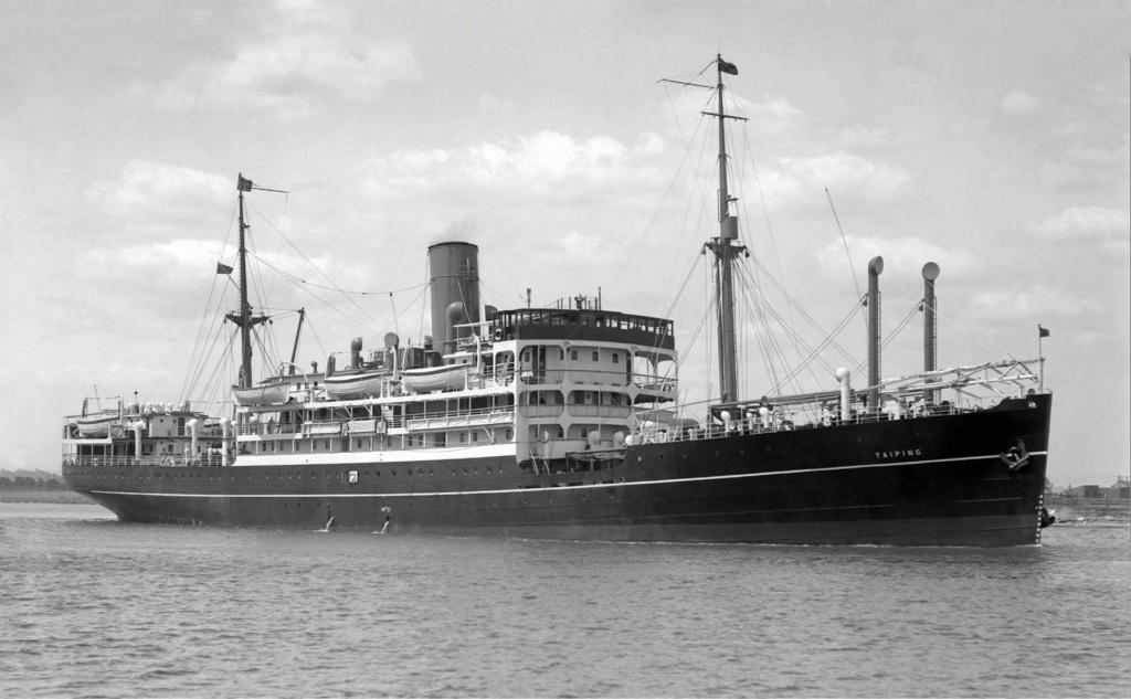 Photos General cargo avant 1940 (Plus 3000gt) 26 Taipin11