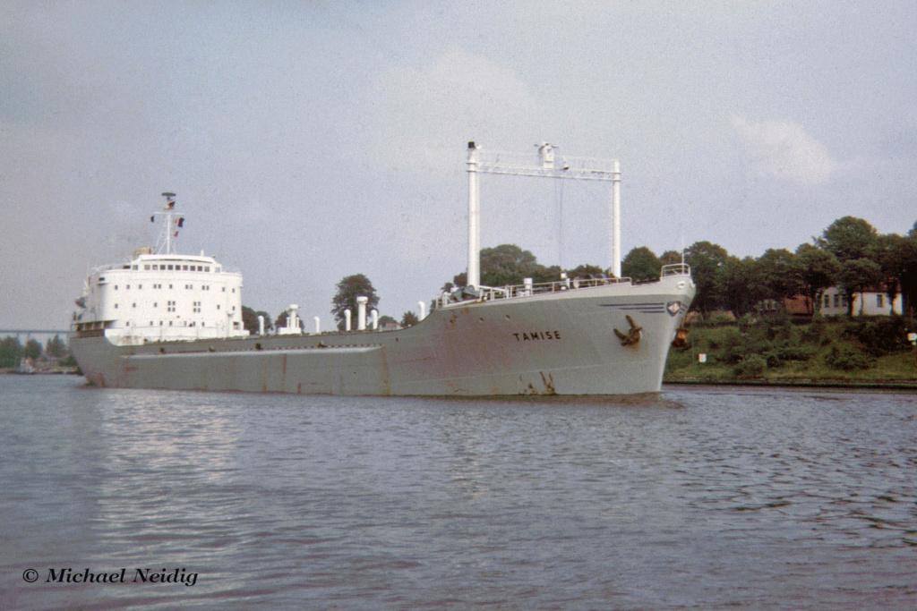 Photos Navires du monde construit entre 1950-1960 (7) Tamise12