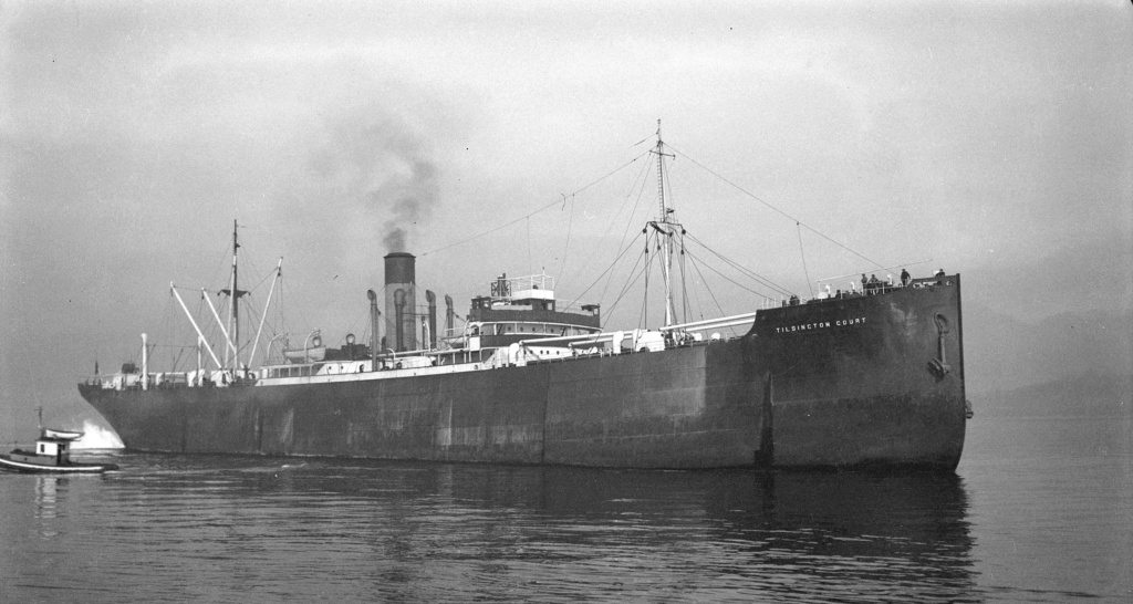 Photos General cargo avant 1940 (Plus 3000gt) 16 Tilsin10