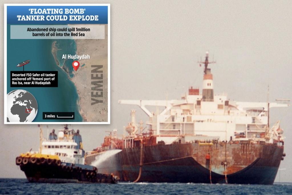 FSO SAFERRisque d'explosion d'un pétrolier au large du Yémen Tp-com10