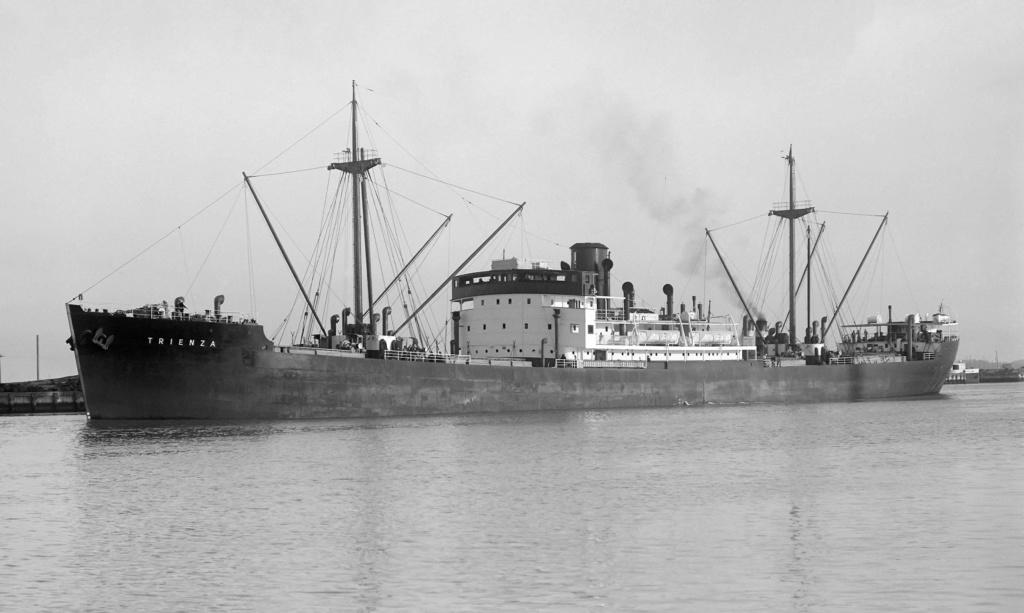 Photos General cargo avant 1940 (Plus 3000gt) 16 Trienz11