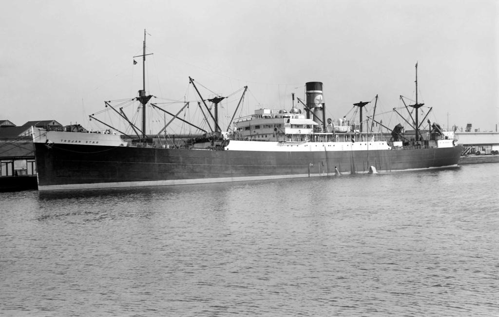 Photos General cargo avant 1940 (Plus 3000gt) 17 Trojan10