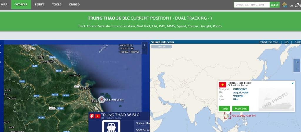 Tanker hit by devastating explosion, Vietnam Trung_10