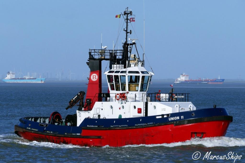 Photos des Navires Belge de la marchande,Fluviale et Pêche 3 Union_10