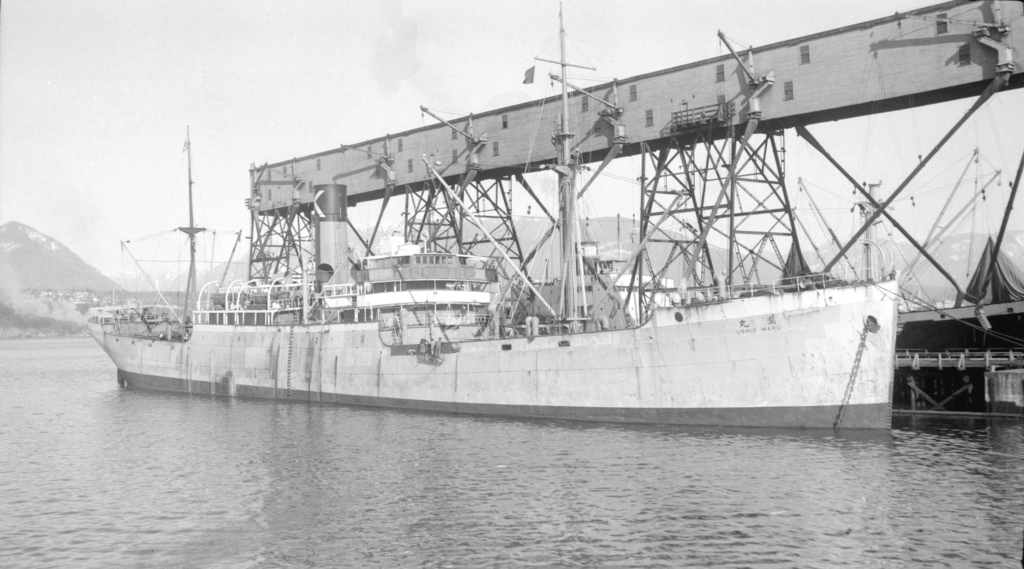 Photos General cargo avant 1940 (Plus 3000gt) 13 Ushio_10