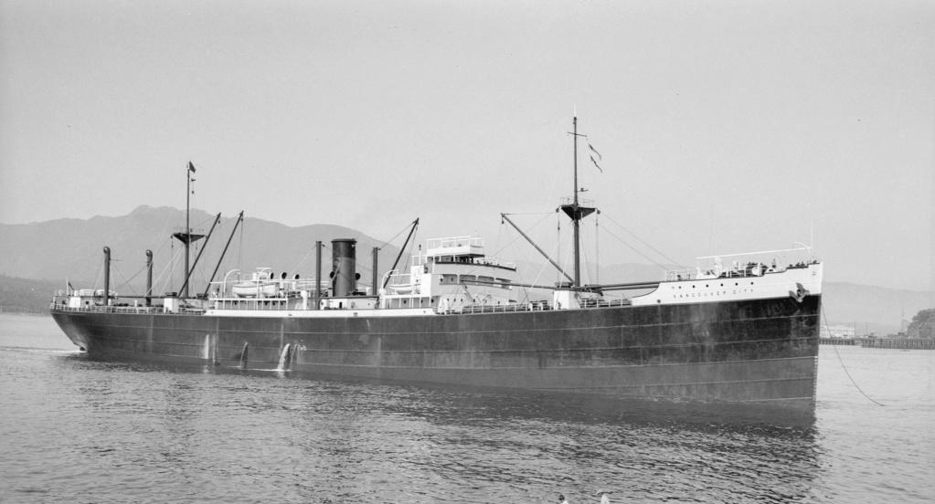 Photos General cargo avant 1940 (Plus 3000gt) 7  Vancou11