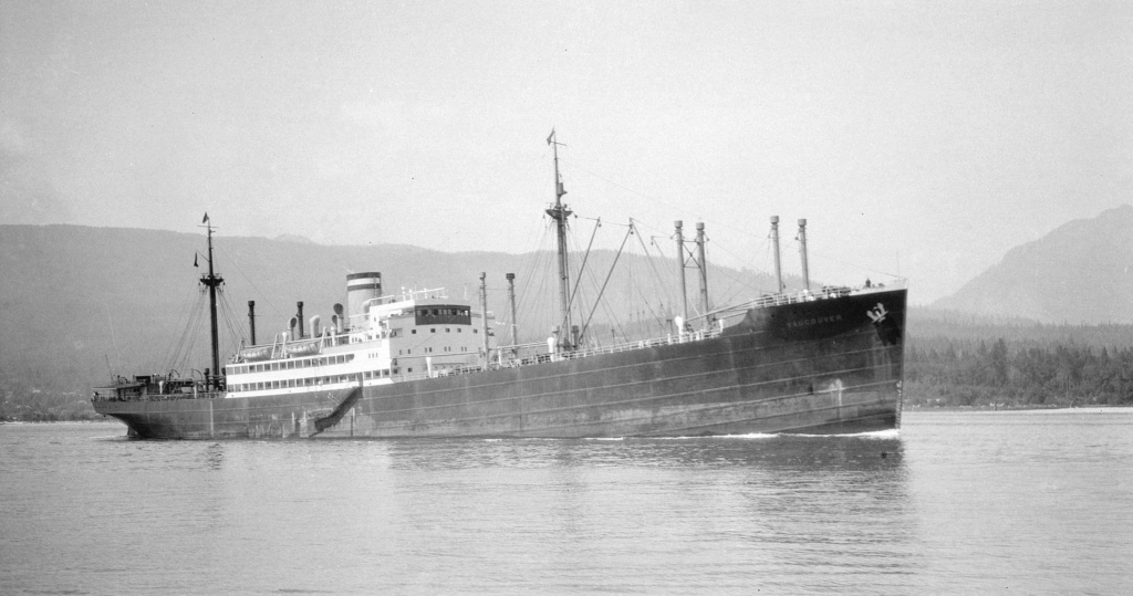Photos General cargo avant 1940 (Plus 3000gt) 16 Vancou12