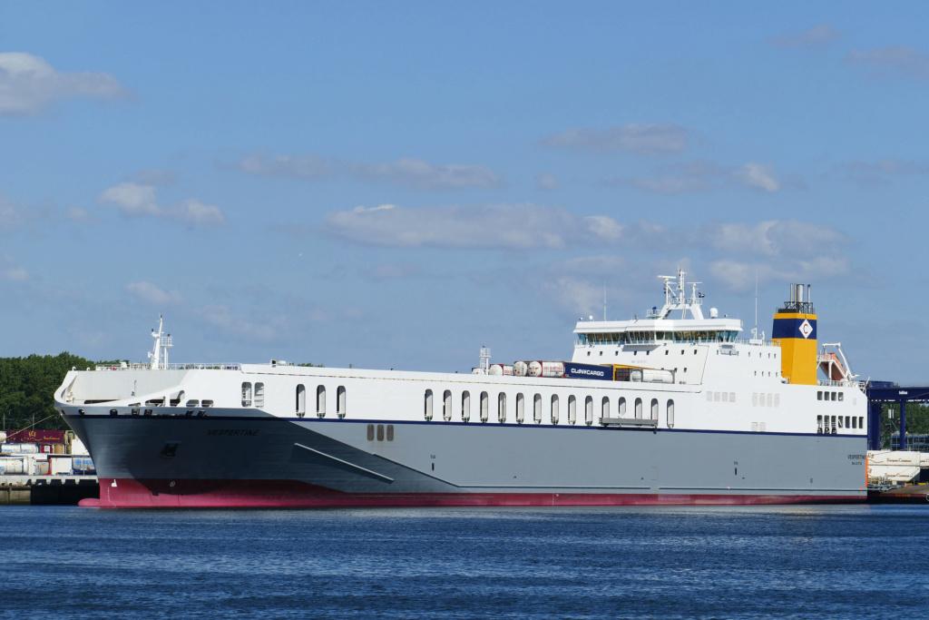 Photos de navires Luxembourgeois Armateur enre Belgique T-Z Vesper10