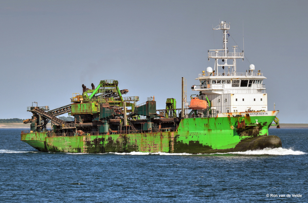 Photos des Navires Belge de la marchande,Fluviale et Pêche 3 Victor12