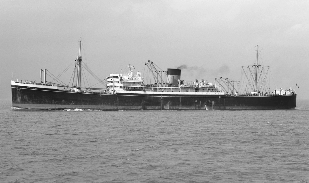 Photos General cargo avant 1940 (Plus 3000gt) 9 Waipaw10