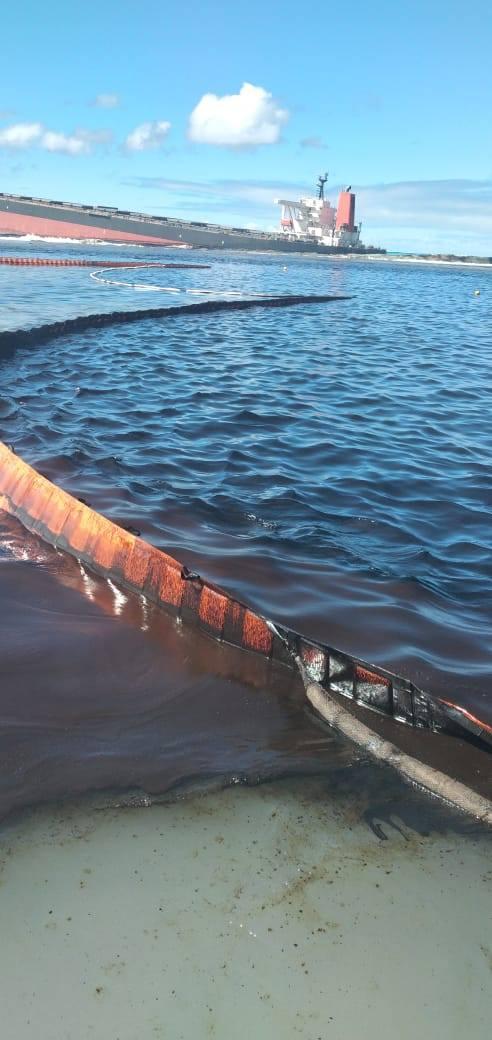 Naufrage du Wakashio : ce désastre écologique dont personne  Wakash12