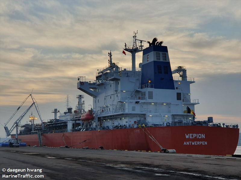 Photos des Navires Belge au 20-05-2020 (T, V, W) Wepion10