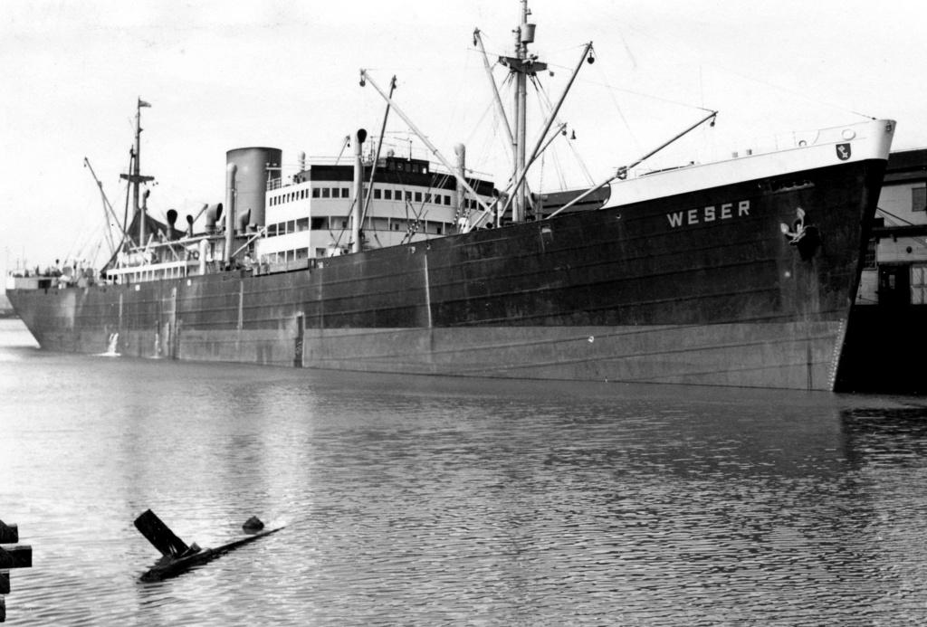 Photos General cargo avant 1940 (Plus 3000gt) 7  Weser10