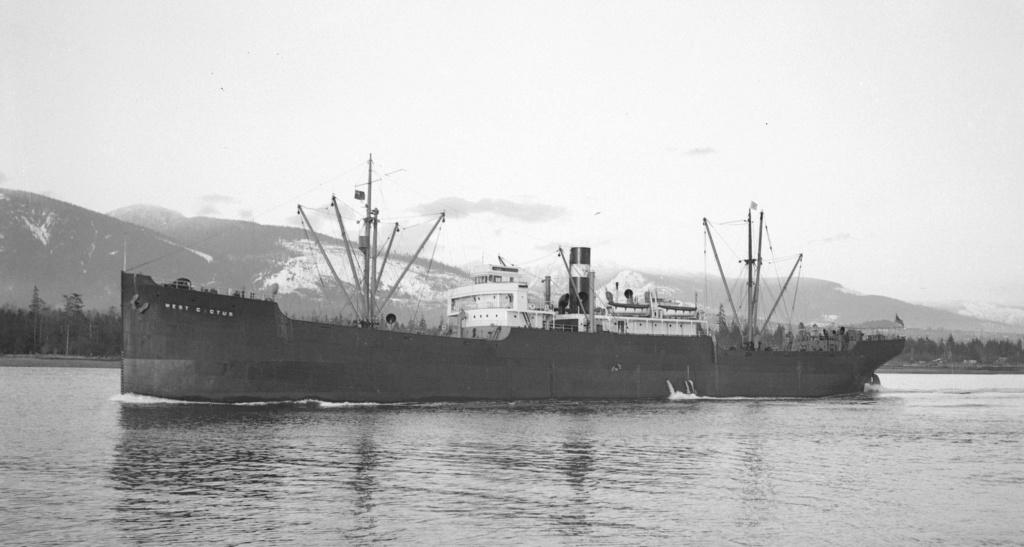 Photos General cargo avant 1940 (Plus 3000gt) 7  West_c10