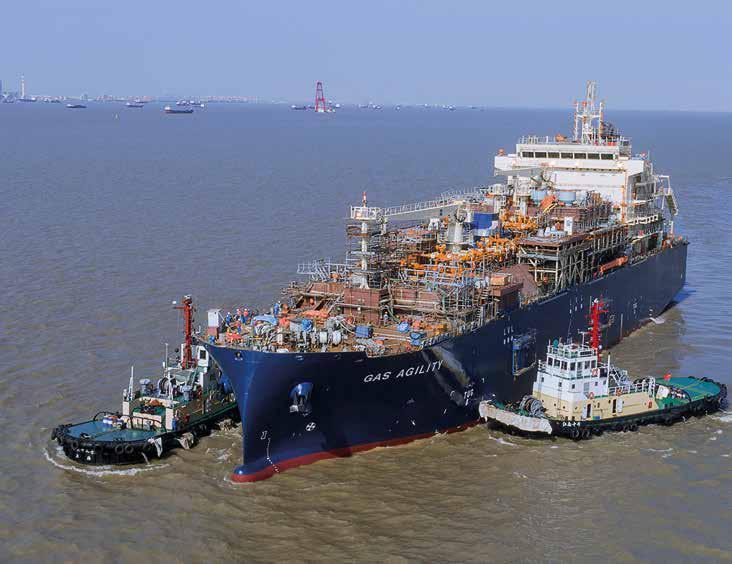 Le plus grand navire de soutage de GNL au monde est nommé à  Worldu10