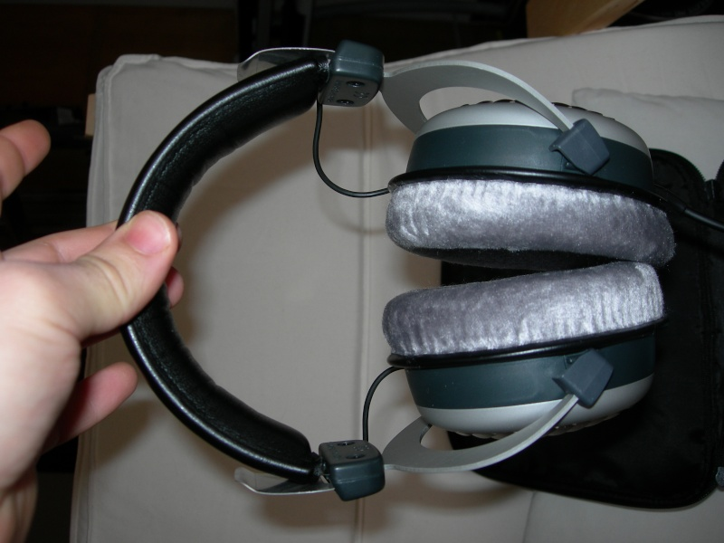 (PA+sped) Beyerdynamic dt 990 edition  + amplificatore a batterie in regalo! Dscn2510