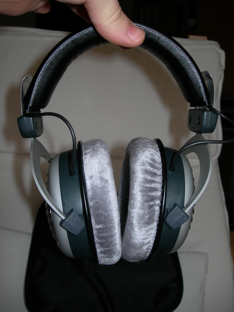 (PA+sped) Beyerdynamic dt 990 edition  + amplificatore a batterie in regalo! Dscn2512