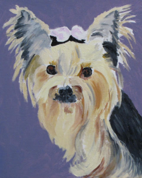 First Animal Painting in WMOs Tessa10