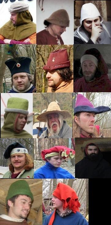 Autorized male hats Projet10