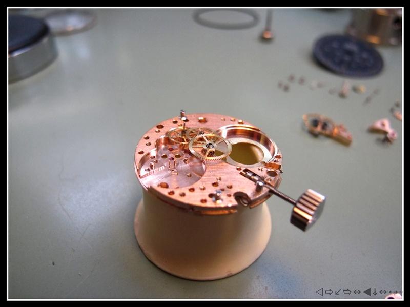 """révision d'une omega speedmaster 105012 calbre 321 2éme partie """"remontage"""" Img_2929"""