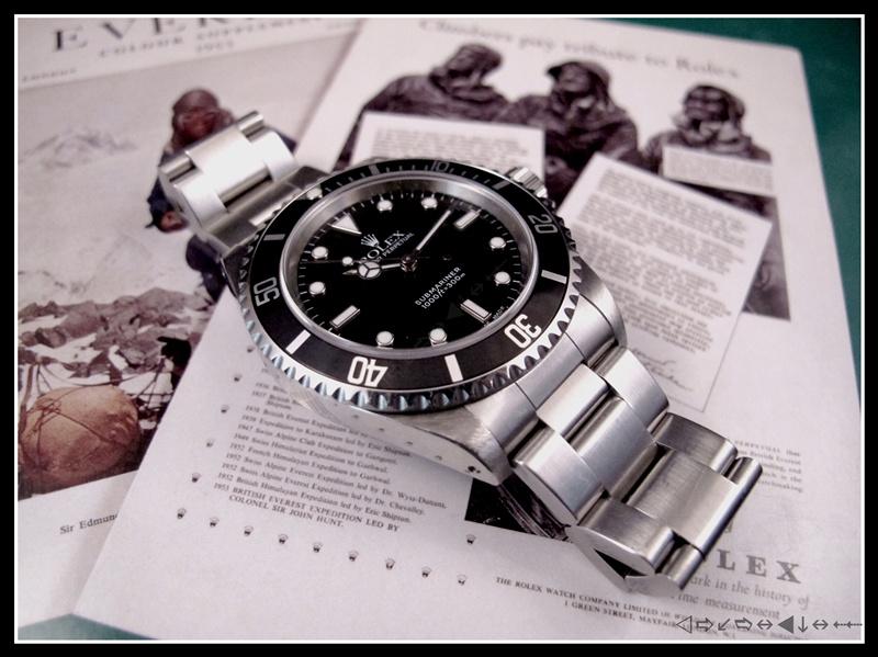 [vends] rolex submariner 14060 2 lignes 2001 révisée, complète 3950 euro Img_3510