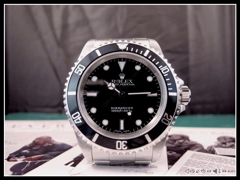 [vends] rolex submariner 14060 2 lignes 2001 révisée, complète 3950 euro Img_3514
