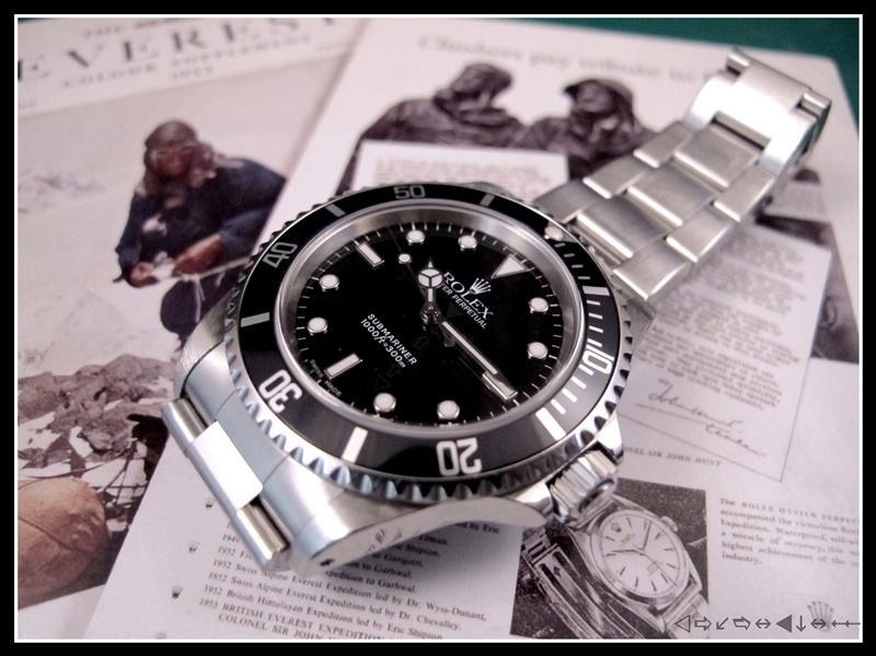 [vends] rolex submariner 14060 2 lignes 2001 révisée, complète 3950 euro Img_3515
