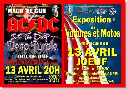 Fête de la moto à Joeuf le 13-04-2013 Affich11
