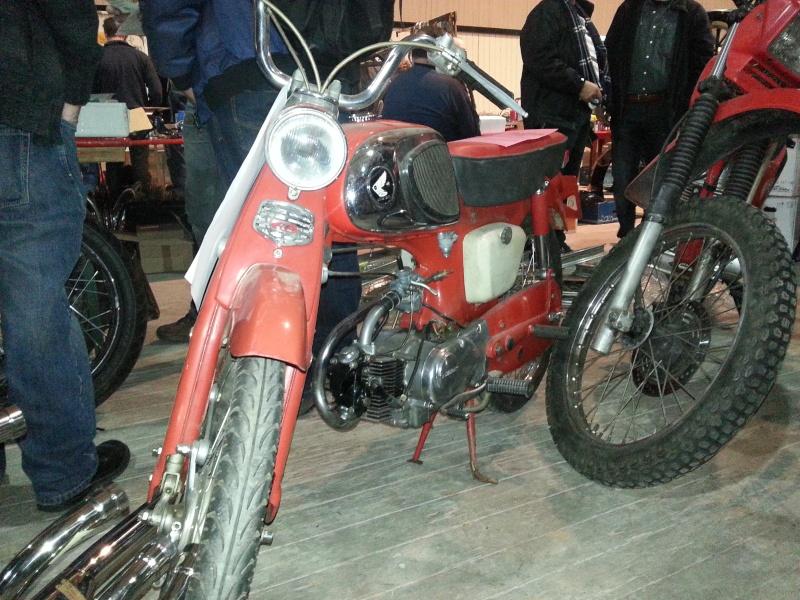 Retro Wieze 9 et 10 février 2013 Thème Café Racer en Belgique 20130220
