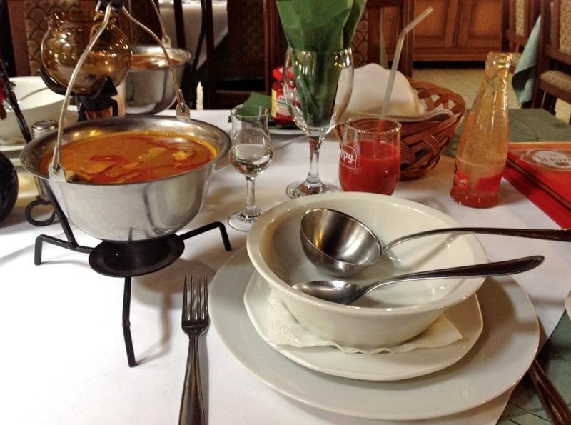 Рыбный суп Halászlé Dddddd22
