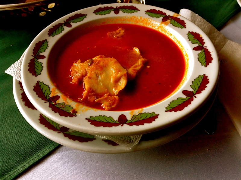 Рыбный суп Halászlé Ndnddn18