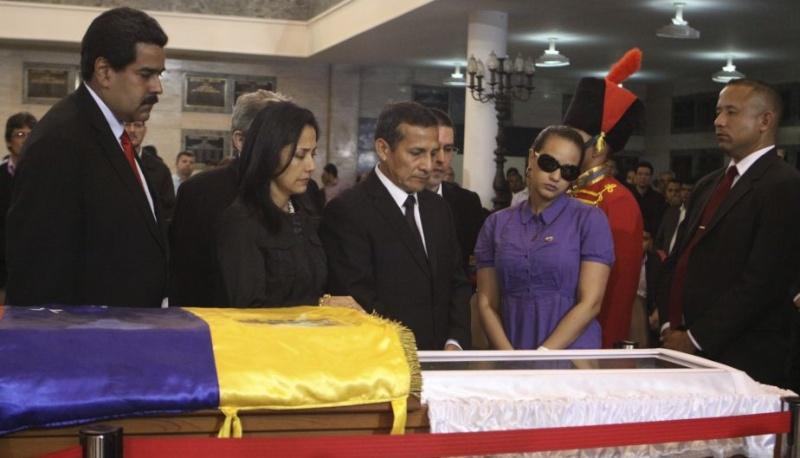 FOTOS: Líderes mundiales le dieron el último adiós a Hugo Chávez 10904510