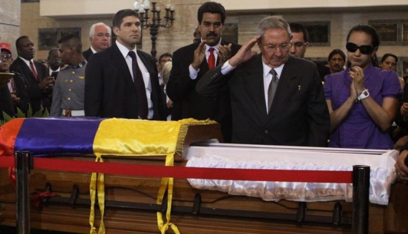 FOTOS: Líderes mundiales le dieron el último adiós a Hugo Chávez 10904610