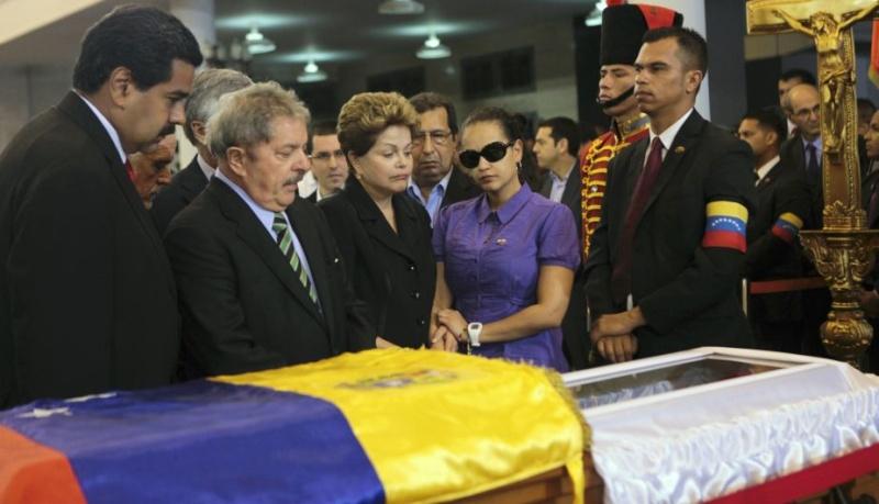 FOTOS: Líderes mundiales le dieron el último adiós a Hugo Chávez 10904710
