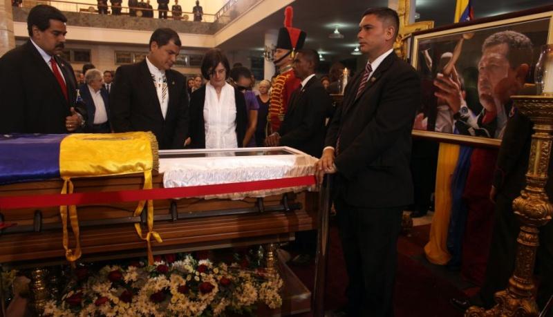 FOTOS: Líderes mundiales le dieron el último adiós a Hugo Chávez 10904810