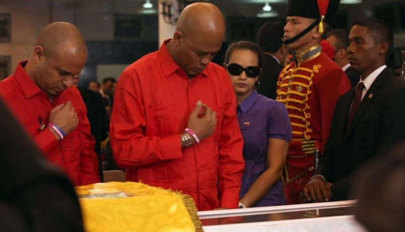 FOTOS: Líderes mundiales le dieron el último adiós a Hugo Chávez 10904910