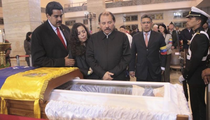 FOTOS: Líderes mundiales le dieron el último adiós a Hugo Chávez 10905010