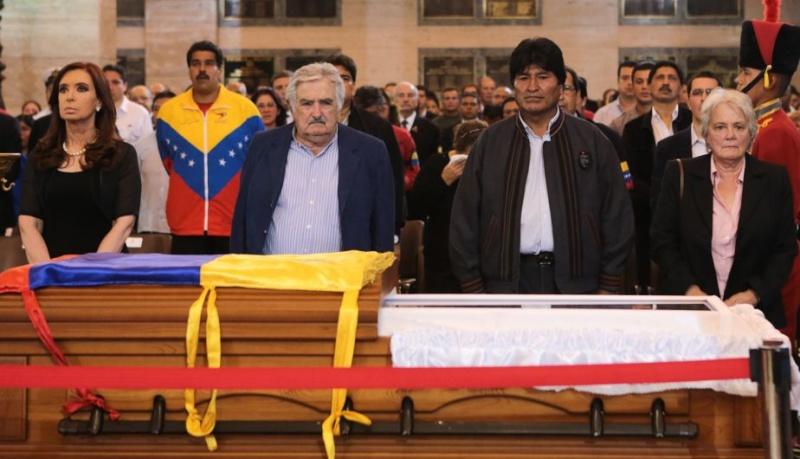 FOTOS: Líderes mundiales le dieron el último adiós a Hugo Chávez 10905110