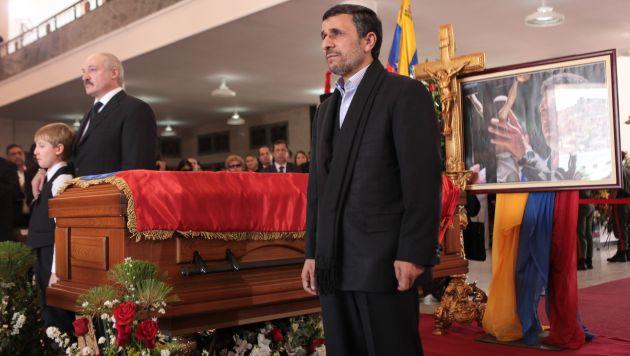 FOTOS: Líderes mundiales le dieron el último adiós a Hugo Chávez 10911010