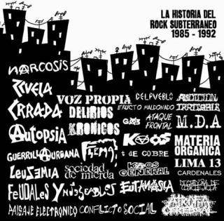 El rock subterráneo según Roger Santiváñez Kloaka11