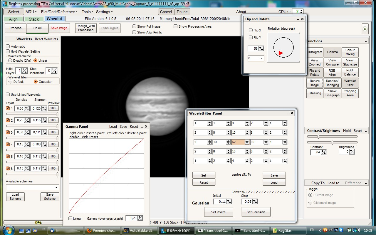 Premiers shoots de Jupiter Parame11