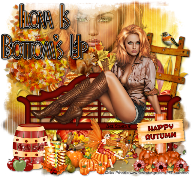 BOTTOMS UP!!! Autumn15