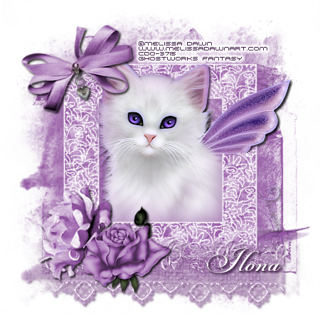 SHOW OFF ANIMAL TAGS Violet10