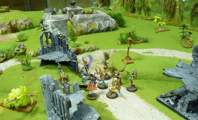 Warhammer 40K. Galerie de Batailles ! P1180129